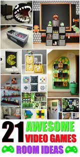 best 25 video game decor ideas on pinterest video game rooms
