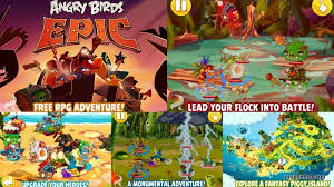angry bird epic game android download avalible