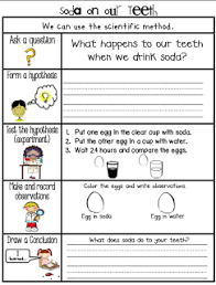 sarah u0027s first grade snippets dental health experiments a fun