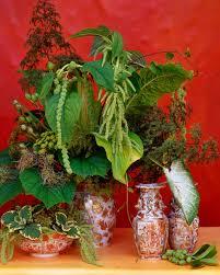 Foliage Flower - green flower arrangements martha stewart