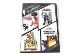 tattoo assassins tcrf 4 film favorites urban action collection jim kelly dvd set martial