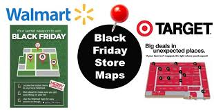 in store target black friday deals black friday doorbuster in store maps released for walmart and