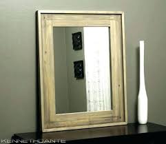Wooden Bathroom Mirror Rustic Wood Bathroom Mirror Rustic Bathroom Mirrors Acnc Co
