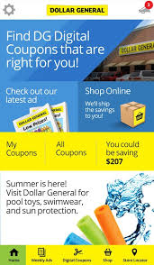 dollar general digital coupons ads and more android apps on