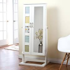 Contemporary Computer Armoire by Wicker Tv Armoire Floor Mirror With Hidden Jewelry Storage Hooker