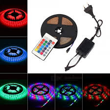 remote control led strip lights mifxion 5m 270 led 2835 smd dc12v ip65 waterproof remote control rgb