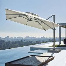 13 Patio Umbrella Altura 13 Ft Square Cantilever Umbrella By Porta Forma Outdoor
