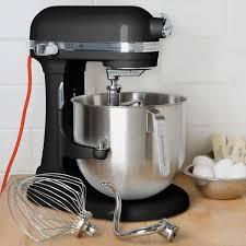 kitchenaid mixer black black kitchenaid 8 qt commercial mixer ksm8990ob webstaurantstore