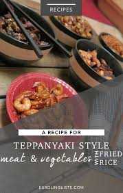 cuisiner au teppanyaki teppanyaki style recipes for vegetables with fried rice