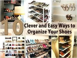 closet closet organizer for shoes best shoe closet ideas on