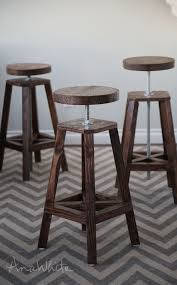 Free And Easy Diy Project And Furniture Plans by Best 25 Diy Bar Stools Ideas On Pinterest Rustic Bar Stools