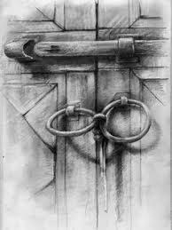 charcoal drawings for beginners old padlock media artist