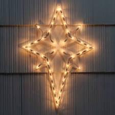 21 Christmas Lighted Moravian Star Indoor Outdoor Decoration by Lighted Bethlehem Star Ebay