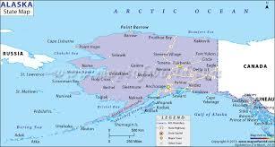 us map of alaska alaska state map map of alaska state