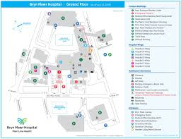navigating our campus bryn mawr hospital locations main line