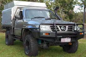 nissan pathfinder lift kit nissan patrol gu ute 3 inch profender airbag lift kit