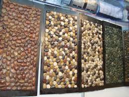 mixed color decorative pebbles nenstone