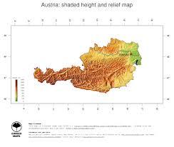 Map Austria Map Austria Ginkgomaps Continent Europe Region Austria