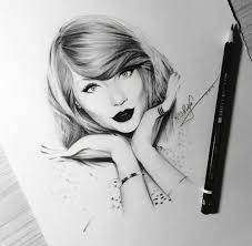 taylor swift pedro lopes art draw on we heart it