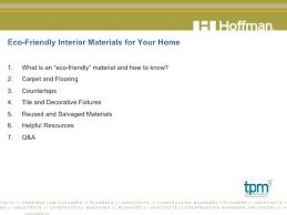 home interior materials eco friendly interior materials