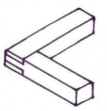 Wood Joints Diagrams by Woodwork Bridle Joint Information And Pictures