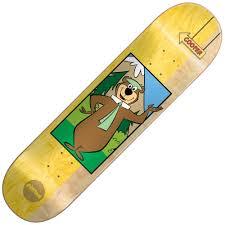 yogi bear almost skateboards cooper yogi bear skateboard deck 8 125