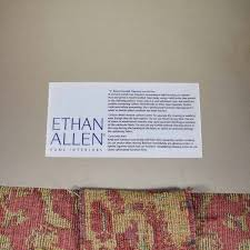 Dry Clean Sofa Cushions 85 Off Ethan Allen Ethan Allen Paisley Sofa With Toss Pillows