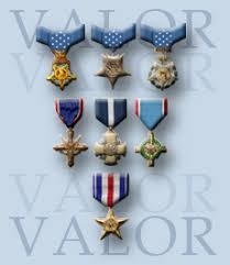 Awards And Decorations Army U S Military Awards For Valor Top 3