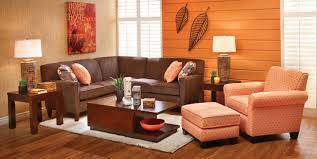 Sofa Mart Designer Rooms - romeo two piece sectional in mushroom and juliet chair in
