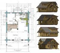 floor plans for small cabins free log cabin floor plans home decor small with loft totally diy