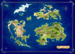 Final Fantasy World Map by Foto Gaia Lands Final Fantasy Ix Inspired Map Created For A