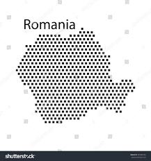 Map Of Romania Map Romaniadot Stock Vector 397886734 Shutterstock