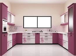u shaped kitchen interior design