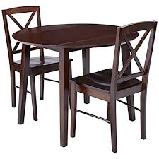 dining room tables with leaves amazon com
