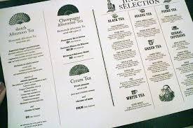 afternoon tea menu sketch picture of sketch parlour london
