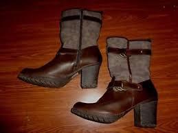 s boots size 9 1 2 skechers zipper boots womens size 9 1 2 3 inch heel ebay