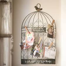 birdcage wall decor photo holder design ideas and decor