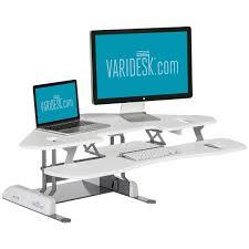 white cube corner 36 corner standing desk by varidesk varidesk nz