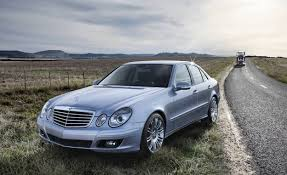 mercedes e 350 2008 a mercedes e class at a price you would think it fell the back