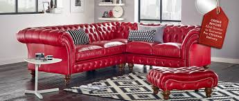 Red Velvet Chesterfield Sofa by Bespoke Chesterfield Furniture Handmade In Britain Sofas By Saxon
