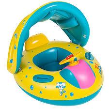 siege bebe gonflable uclever bouée siège gonflable flotteur bateau bébé avec pare