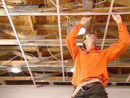 How To Put Up Tin Ceiling Tiles by How To Install An Acoustic Drop Ceiling How Tos Diy
