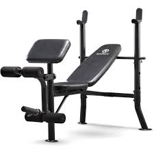 marcy deluxe standard bench with rack review best fitness
