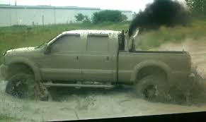 Ford Diesel Truck White Smoke - 05 lifted and studded f250 on 24s and 38s 23500 trucks gone