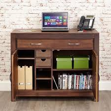 hidden office desk mayan walnut hidden home office desk cwc06a
