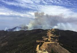 California Wildfires Pets by Officials Work To Keep Pace With Increasing Intensity Of