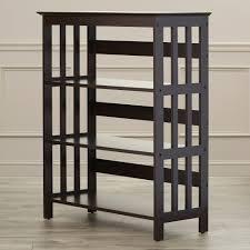 bookcase horizontal solid wood haammss