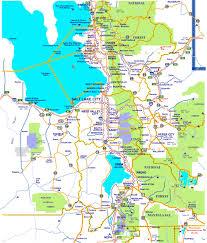 Map Of La Area Area Maps Utah Ski Authority