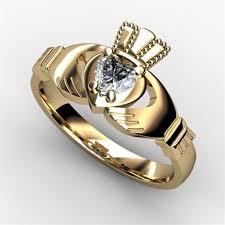 1 4 carat engagement ring 1 4 carat claddagh engagement ring yellow asu2 25