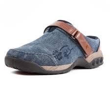 austin women u0027s denim clog slip on clogs clothing and athletics